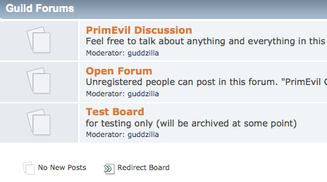 PrimEvil Forum